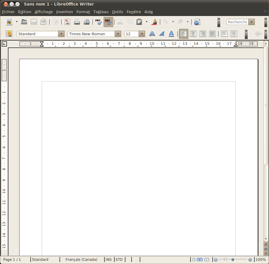 LibreOffice Writer en franais